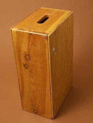 Apple box - Full Apple Box, in New York position