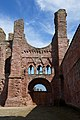 Arbroath Abbey - view of west door.jpg