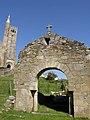 Arco visigotico e iglesia Panxon - panoramio.jpg