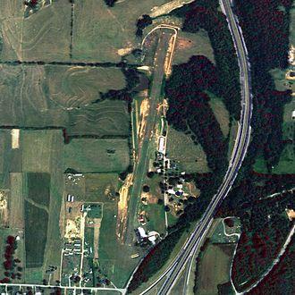 Ardmore Airport (Alabama) - NAIP aerial image, 24 August 2006