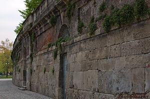 Arena Civica - The facade of the stadium