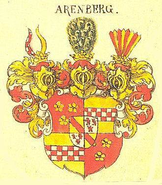 House of La Marck - Arenberg coat of arms, Siebmacher, about 1605