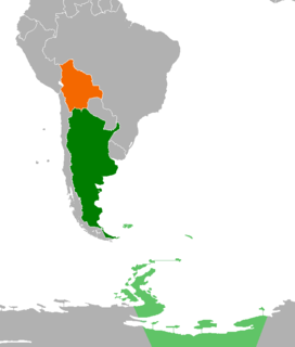 Diplomatic relations between the Argentine Republic and the Plurinational State of Bolivia