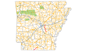 Arkansas Highway 15 - Image: Arkansas 15