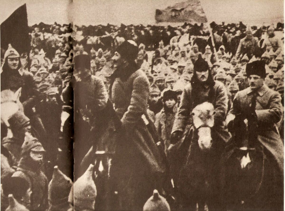 Попавшие в плен армия тухачевскго