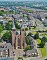Arnhem Blick von der Grote Kerk Sint Eusebius auf die Sint Walburgiskerk 2.jpg
