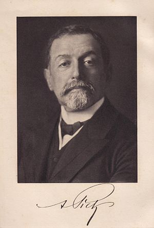 Arnold Pick - Image: Arnold Pick (1851 1924)