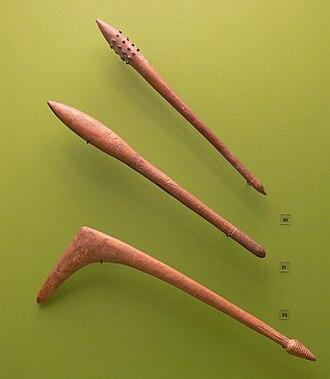 Waddy - Waddies made by the Aranda people