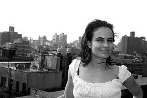 Inka Essenhigh - Artist Inka Essenhigh in New York City
