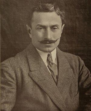 Arturo Ambrosio - Ambrosio in 1913