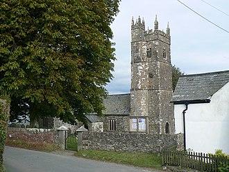 Grade I listed buildings in Torridge - Image: Ashwater Church (geograph 2701494)