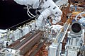 Astronauts Richard M. Linnehan and John M. Grunsfeld (27411453214).jpg