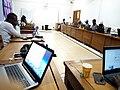 Atelier du 05 mars 2019 Edition articles et téléversement de photos pour wiki loves Africa 2019 au Bénin01..jpg