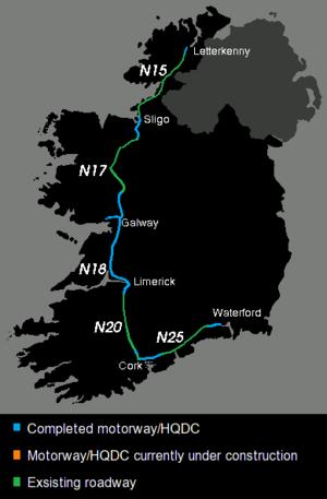 Atlantic Corridor - Atlantic Corridor in October 2017