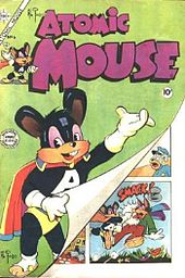 Cover of comic book Atomic Mouse
