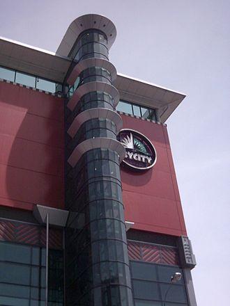 SkyCity Auckland - Facade of SkyCity Auckland