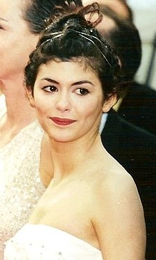 Tautou at the 1999 Cannes Film Festival Audrey Tautou Cannes.jpg