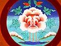 Auspicious symbol. Lotus - Padma. Likir Monastry.jpg