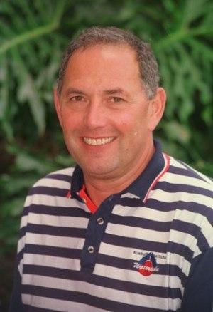 István Görgényi - AIS Head Women's Water Polo Coach Istvan Gorgenyi Portrait