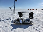 Automatic ground penetrating Radar (upGPR) near Swiss Camp (Greenland) 1.jpg