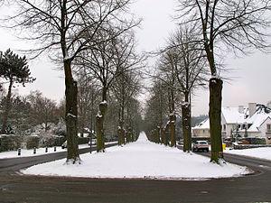 Kraainem - Image: Avenue Baron Albert d'Huartlaan