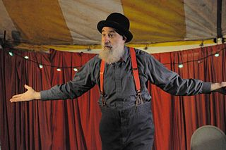 Avner the Eccentric American performer
