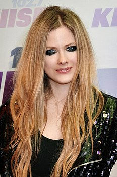 Avril Lavigne a Los Angeles, California, nel 2013