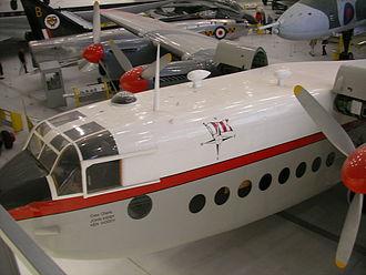 Dan-Air - Dan Air Avro York at the Imperial War Museum Duxford.