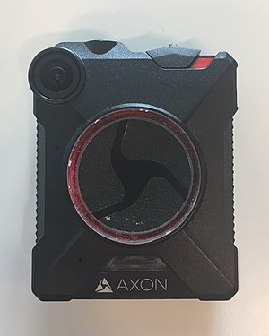 Body worn video (police equipment) - Image: Axon body on