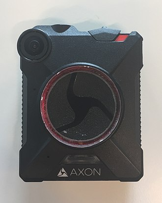 Body worn video (police equipment) - Axon bodycam