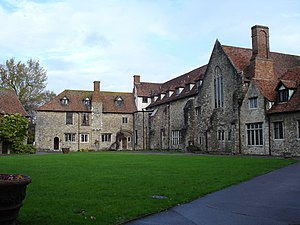 Photograph of Aylesford Priory, Kent, England