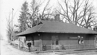 Longwood station (MBTA) - Chapel station at an unknown date