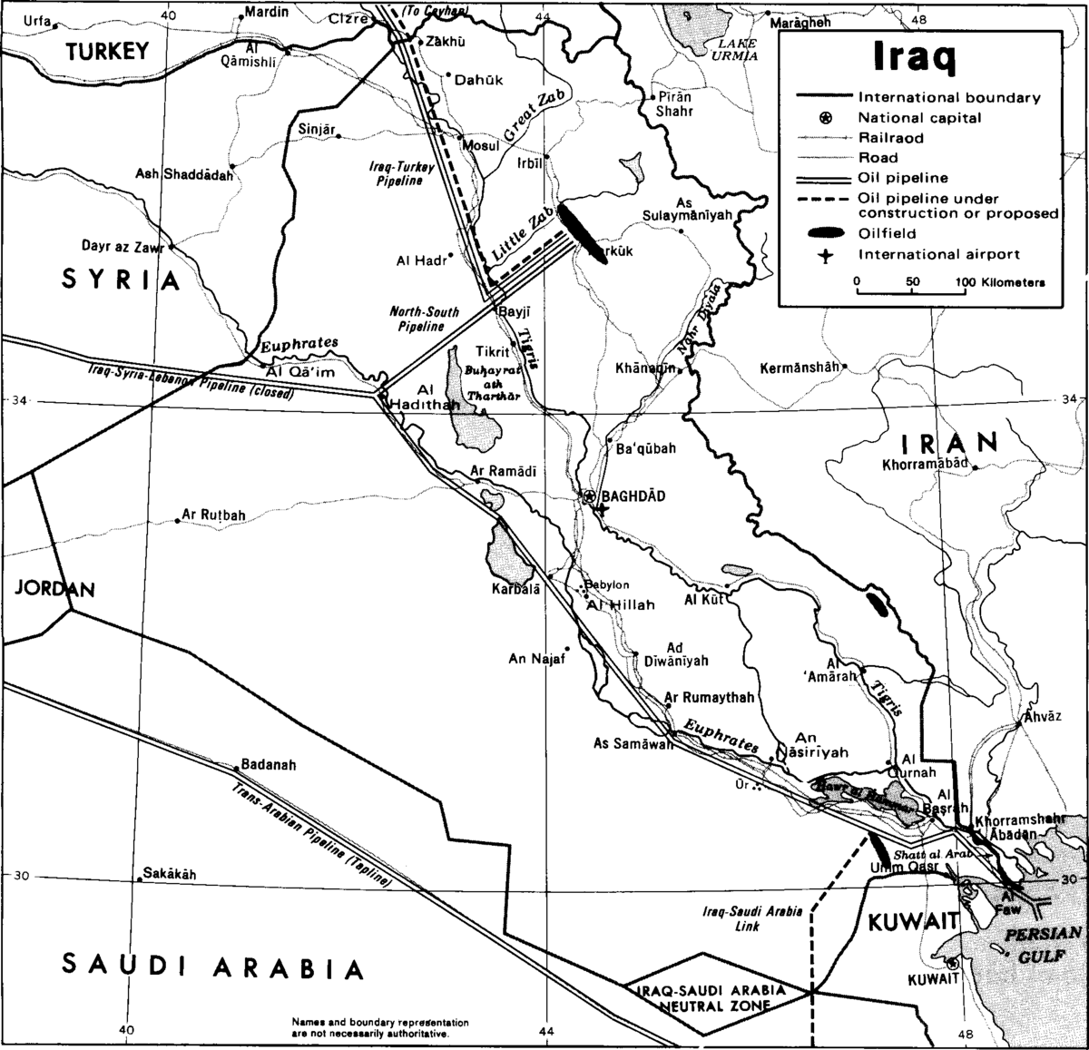 Image Result For Map Of Iraq