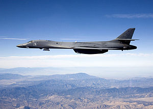 Sniper Advanced Targeting Pod - A B-1B Lancer carrying the Sniper pod.