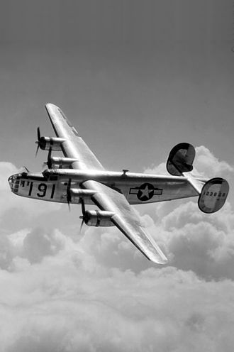 918th Air Refueling Squadron - B-24 Liberator of a US based unit