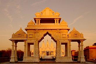 BAPS Shri Swaminarayan Mandir Chicago - Image: BAPS Chicago Mandir 3