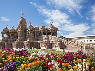 BAPS Shri Swaminarayan Mandir Chino Hills - Image: BAPS Mandir LA 1