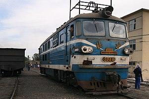 China Railways BJ - BJ3248 in Nanpiao, Liaoning