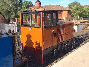 Bure Valley Railway - Image: BVR locomotive 4