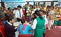 Babies and mothers seen at the Healthy Baby Competition organised by DFP, at the Public Information Campaign, at Melli ground South Sikkim on November 11, 2014.jpg