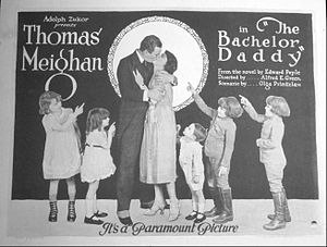 The Bachelor Daddy - Lobby card