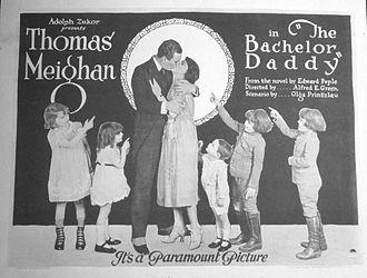 The Bachelor Daddy - Lobby card