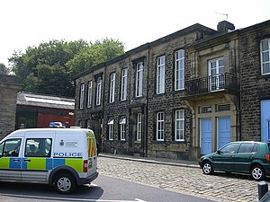 Juliet Bravo - Bacup police station acted as Hartley police station.