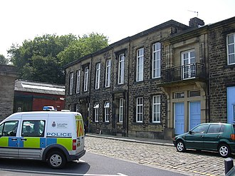 Bacup police station acted as Hartley police station. Bacup Police Station - geograph.org.uk - 462381.jpg
