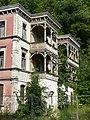 Bad Blankenburg - ehem. Hotel Chrysopras - Nordost-Fassade von Südosten.jpg