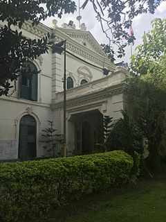 former Thapa palace at Kathmandu
