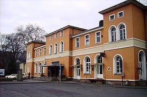 Upper Ruhr Valley Railway - Arnsberg station
