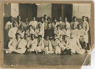 Baku State University - The students of Medical Faculty of Baku Student University in 1923