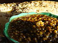 Baked Lentils and Fresh Garlic Bread (3565482482).jpg