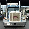Bakersfield, (CA) Truck Peterbilt at Flying J Travel Plaza (2012) .jpg